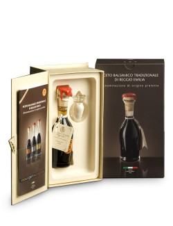 Traditional PDO Reggio Emilia Bollino Oro Balsamic Vinegar 100 ml