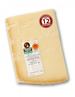 PDO Mezzano Parmesan Cheese aged for 12 months, approx. 750 g, Silvano Romani selection