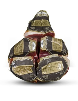 Deboned PDO Gran Riserva Leporati Parma Ham dry cured for 22-24 months 5 pieces approx. 6,2 kg