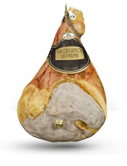 Bone-in Gran Riserva Leporati PDO Parma Ham dry cured for 22-24 months approx. 10.5 kg
