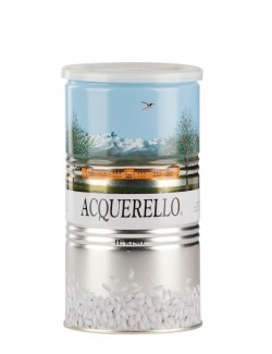 Canned Acquerello rice, 1 kg