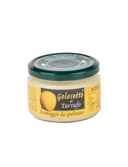 Truffle flavor cheese spread