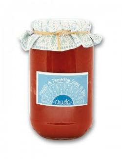 """Passata di pomodori cuore di bue """"cruda""""  550 g"""