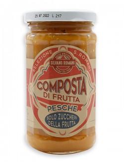 Peach compote, 230 g