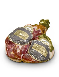 Deboned shankless PDO Gran Risevera Leporati Parma Ham dry cured for 22-24 months approx 8 kg