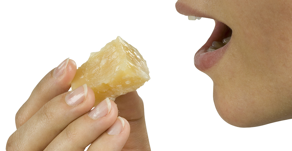 sensory analysis of parmigiano reggiano